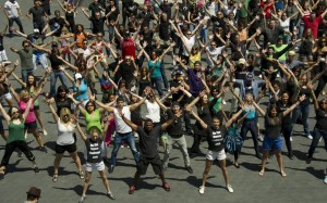 ViSalus World's Largest Simultaneous Flash Mob
