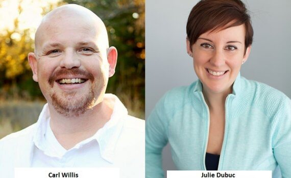 Carl Willis and Julie Dubuc webinar