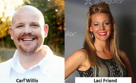 Carl Willis interviews Laci Friend